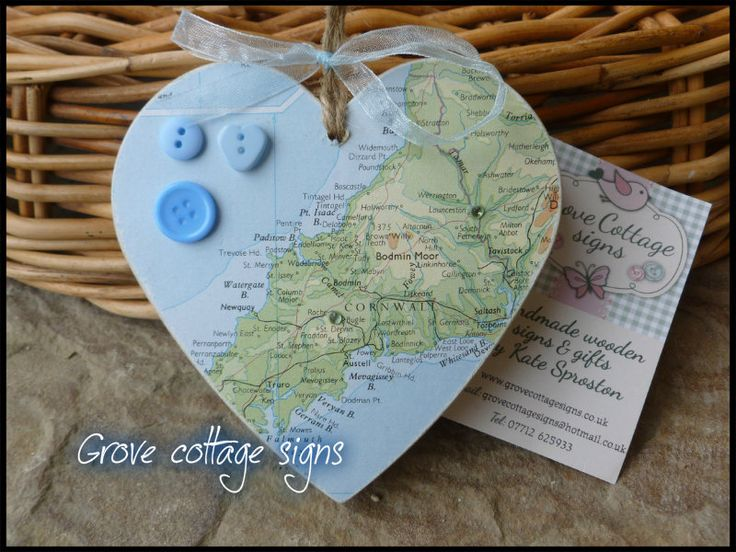 New map hearts #newfor2015 #handmade #grovecottage #woodengifts #maps #maphearts