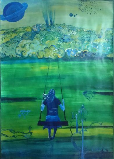 **Die Wolkenschaukel** --- by Alexandra Blon/Squeechy Beckenheim