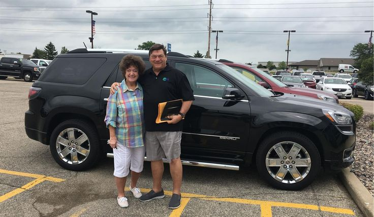 """Mark and Vickie, wishing you many """"Miles of Smiles"""" in your 2016 GMC ACADIA DENALI!  All the best, Kunes Country Chevrolet Buick GMC and ELI LAZAR."""