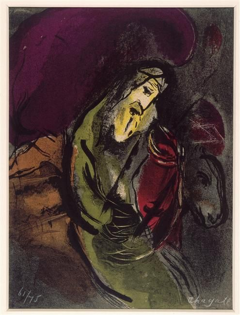 Awesome Marc Chagall Jeremiah 1956 Photo - Latest religious paintings Pictures