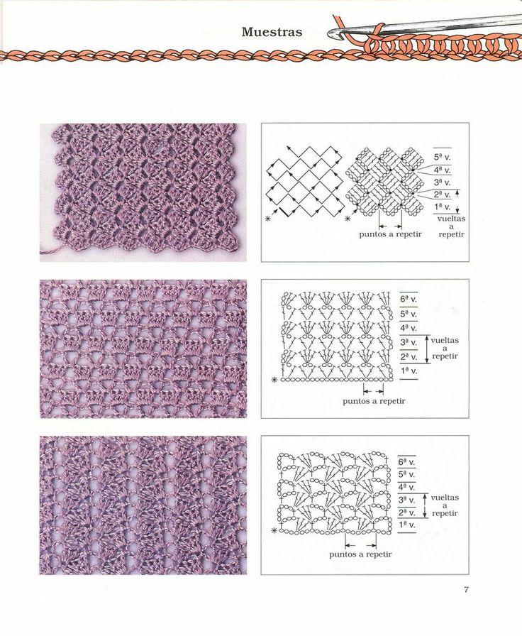 382 best Crochet: Lace images on Pinterest | Crochet patterns ...