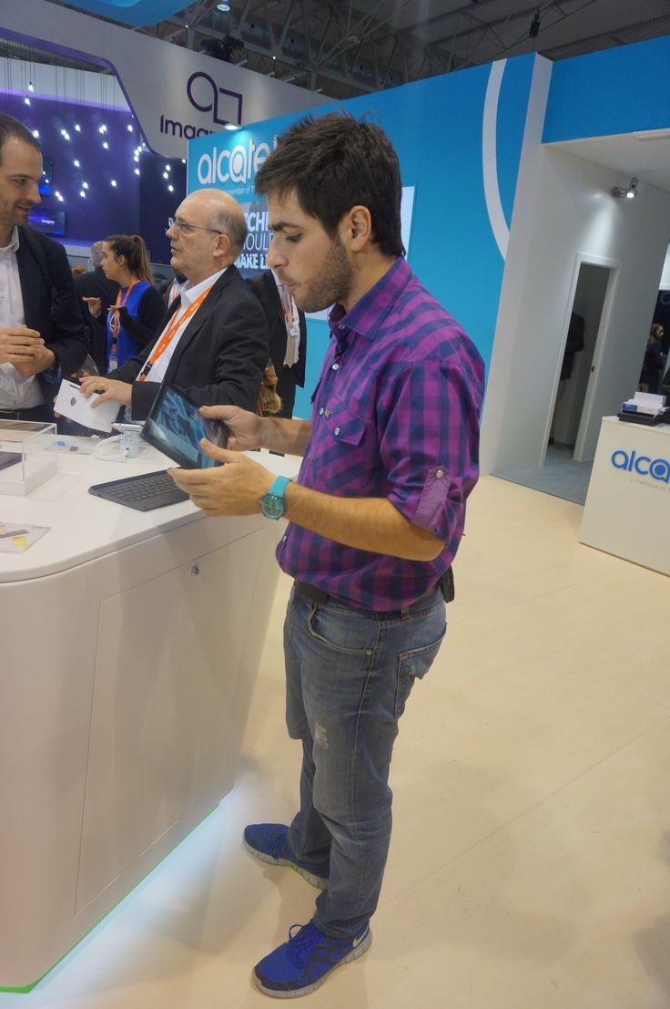 #Alcatel #MWC16 #PLUS10 Launches #Tablet