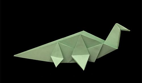 Origami Dinosaurs, a list of online, origami-dinosaur diagrams ... | 293x500