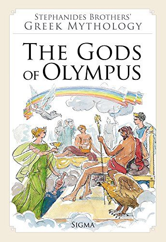 1. The Gods of Olympus (Stephanides Brothers' Greek Mythology): Amazon.co.uk: Menalaos Stephanides, Menelaos Stephanides, Yannis Stephanides: 9789604250585: Books