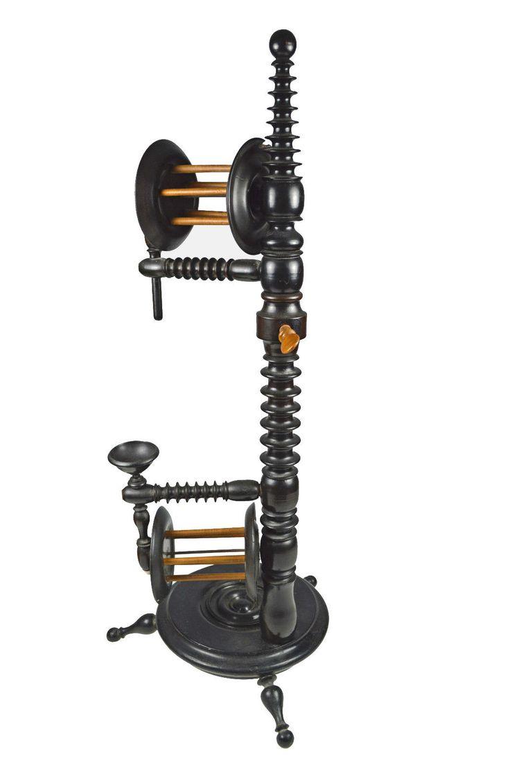 Antique Floor Standing Spool Turned Swift or Yarn Winder, Dutch. | Antiques, Decorative Arts, Woodenware | eBay!