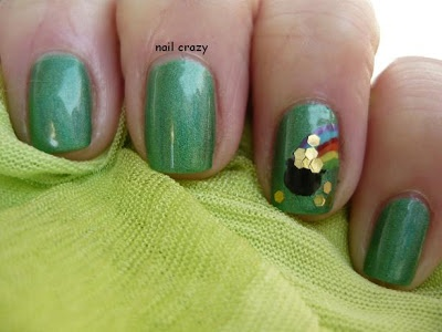 Nail crazy: St. Patrick's Day
