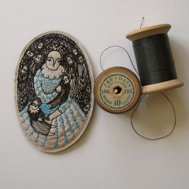 portrait in stitch | Explore cathy cullis' photos on Flickr.… | Flickr - Photo Sharing!: