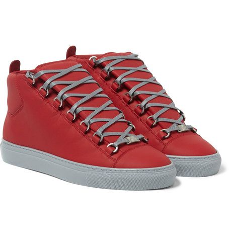 Rouge And Flannel: @Balenciaga Arena High Top #Sneakers | #SHOEOGRAPHY