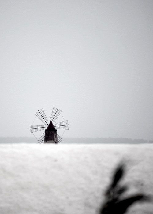Nubia, #saline, #mulino, a #windmill at #saltpans near #Trapani. For more information have a look at bebtrapanilveliero.it