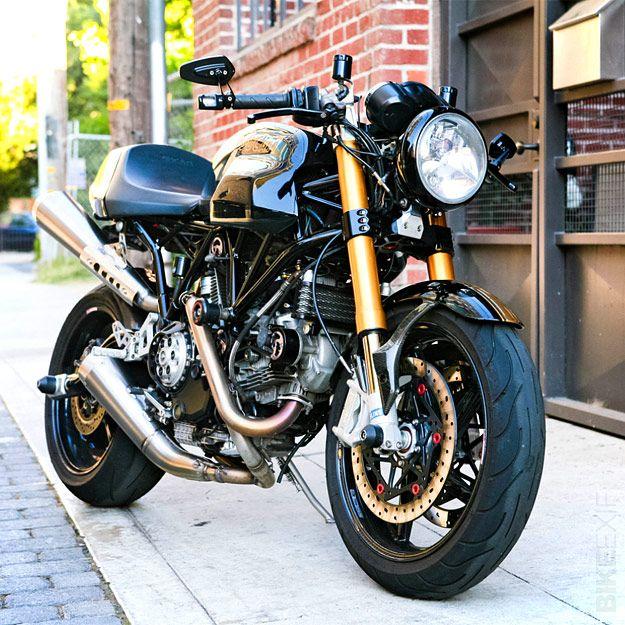 "Ducati Sport 1000 Custom ""Black/Gold"""