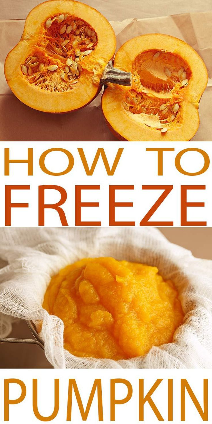 Freezing pumpkin is a great way to preserve pumpkin for use over winter. Pureed pumpkin is great for making soup, muffins and more.