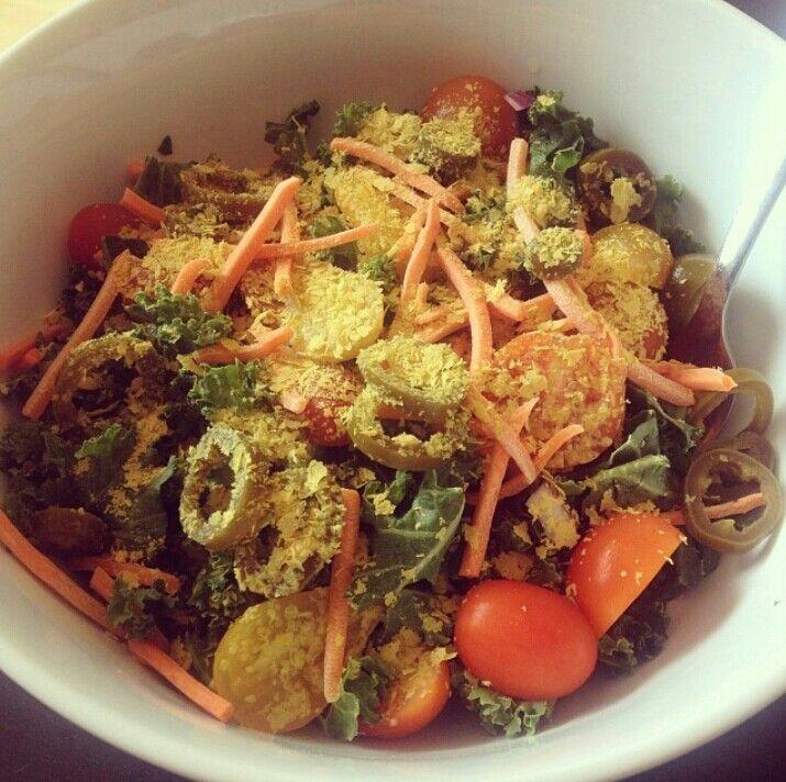 Kale salad | Soup & Salad | Pinterest