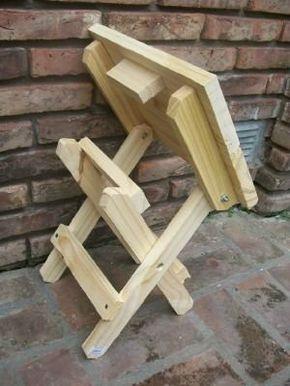 M s de 1000 ideas sobre sillas de madera plegables en for Sillas empresariales