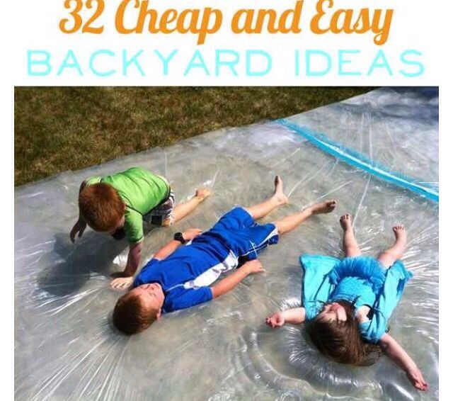 32 Backyard Ideas That Are Easy, Cheap, And Borderline Genius!! #Family #Trusper #Tip