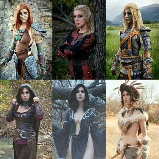 April Gloria: Women of Skyrim