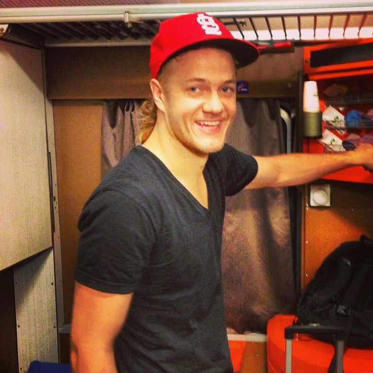 On a train to Russia ...Dan Reynolds of Imagine Dragons