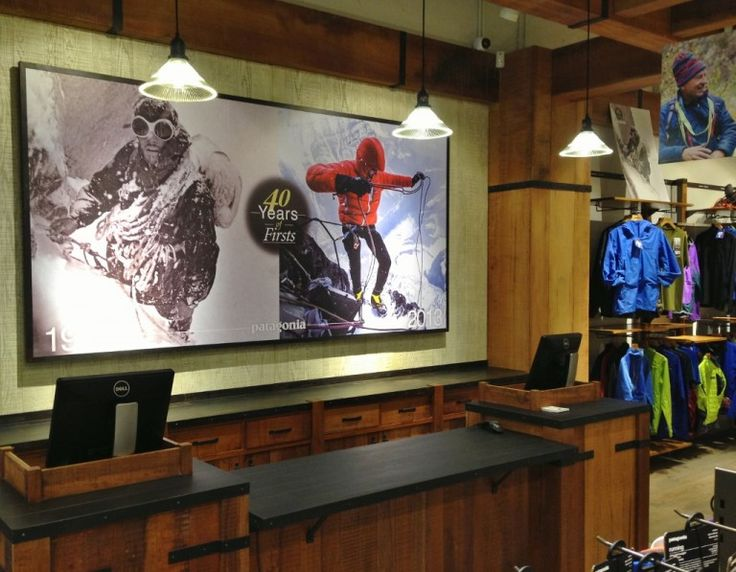 Industrial Sconces, Glass Pendants for Hong Kong Patagonia Store | Blog | BarnLightElectric.com