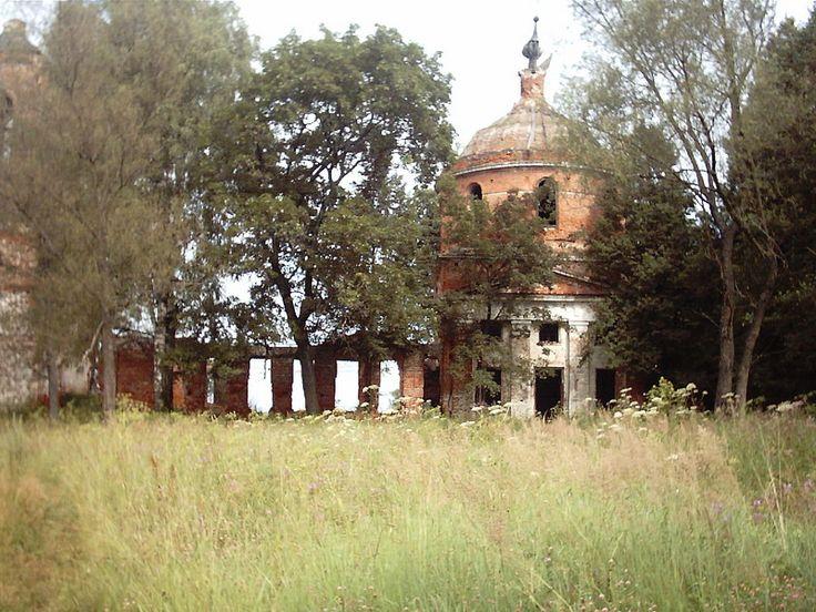 Заброшенные церкви. Орехово-Зуевский р-н.