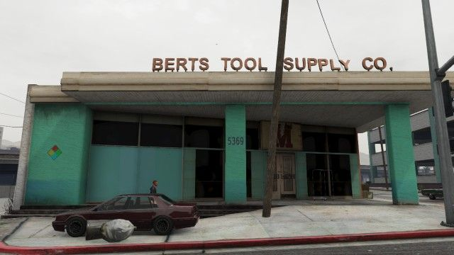 Bert's Tool Supply Co. - GTA Wiki, the Grand Theft Auto Wiki - GTA IV, San Andreas, Vice City, cars, vehicles, cheats and more - Wikia