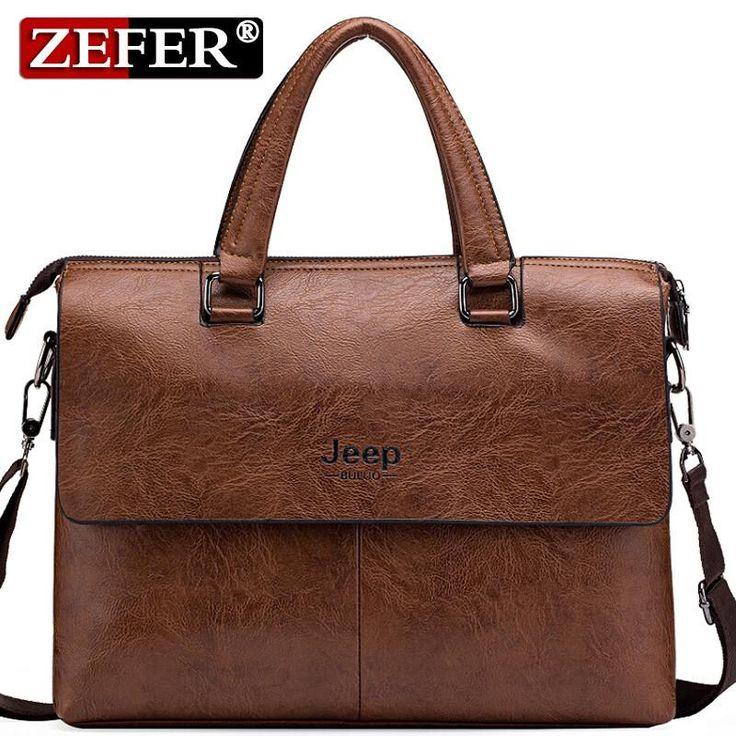 Briefcace Crossbody Leather Bag   Furrple
