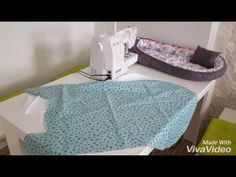 Tutorial How to sew a babynest - YouTube