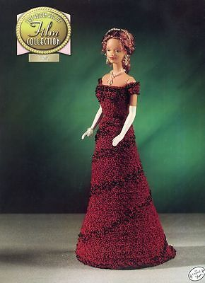 Titanic-Outfit-for-Barbie-Annie-039-s-Golden-Age-Film-Crochet-Pattern-Leaflet-NEW