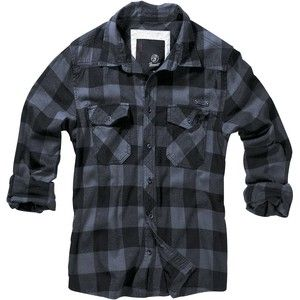 Gezien op beslist.nl: Brandit - Flanellen overhemd - Checkshirt
