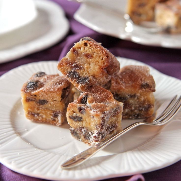 This traditional German Mini Stollen Bites Recipe is a great alternative to Christmas cake and fabulous as party bites.