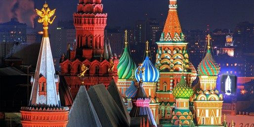 £239 pp •Direct return flights from London Gatwick to Moscow •Three nights at the 5-star Hilton Moscow Leningradskaya with daily breakfast •A hop-on, hop-off sightseeing tour of the city (worth £14 per person) •10 Metro tickets (worth around £5 per person) •Return train tickets from the airport to the city centre (worth £12 per person)