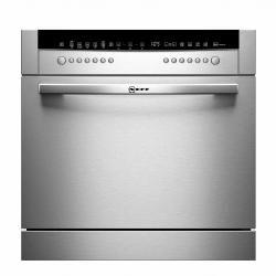 Lave vaisselle Compact Inox tout intégrable NEFF S66M64M1EU