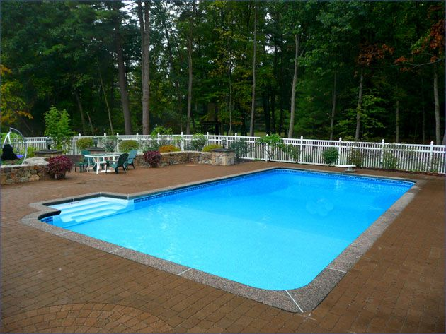 Inground Pool Fence Ideas attractive inground pool fence ideas In Ground Pools Liners Central Pools And Spas Inground Pool Vinyl Liner Replacements
