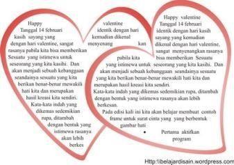 Kata Kata Indah Di Hari Valentine Day Untuk Kasih Dan Sayang