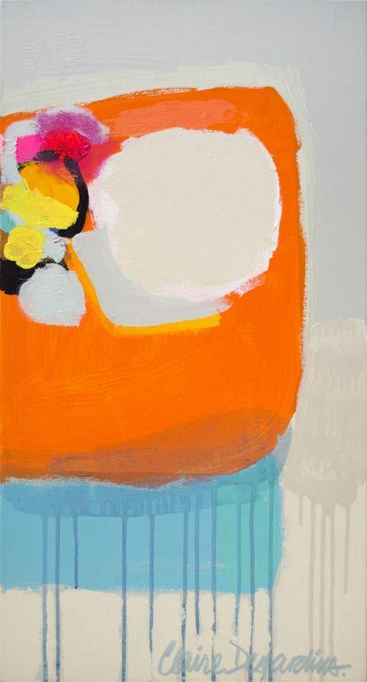 "Saatchi Online Artist: Claire Desjardins; Acrylic, 2011, Painting ""Stitch In Time"""