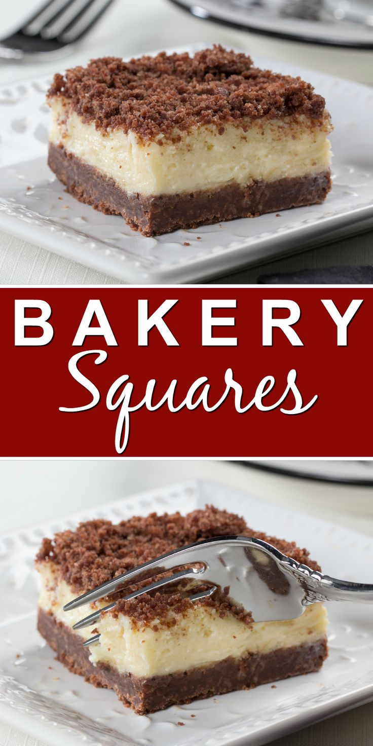 We hope you're ready to fall in love with a new diabetic-friendly dessert because these Bakery Squares are simply perfect