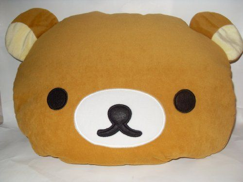 """Rilakkuma 16"""" Pluh Pillow And Cotton Quilts: 2 In 1, 2015 Amazon Top Rated Pillows #Home"""