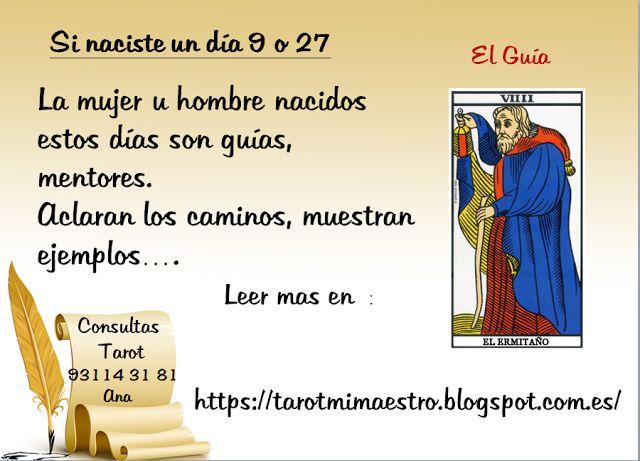 Ana Tarot: SI NACISTE UN DIA ..9 o 27  #tarot  #tiradas  #tarotistaprofesional