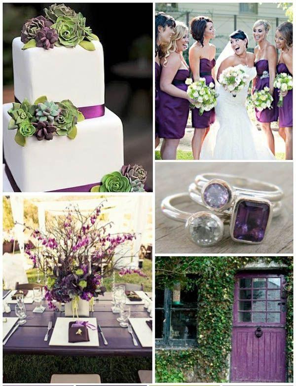 Painel de inspiração lilás e verde + Casamento | Andrea Velame Blog