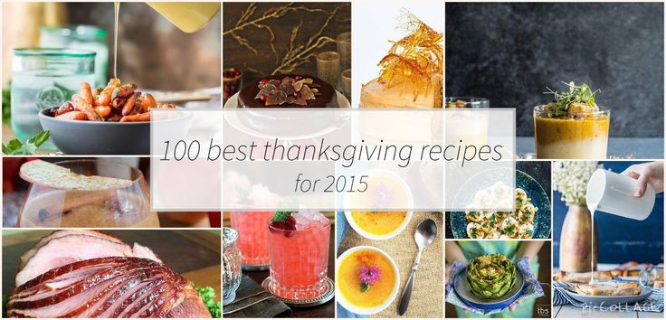 There is something for everyone in our list for 100 best thanksgiving recipes for 2015. Find old favorites and learn someth ing new to try on your thanksgiving menu. Big thanks to all of the mentioned food blogs for making this list possible.  We've divided this list into 5 categories, click on each category to view …