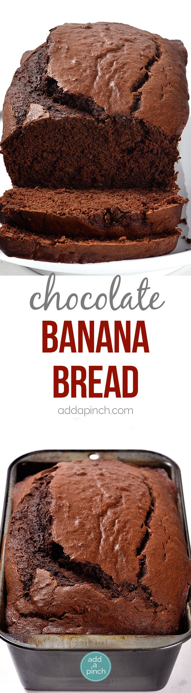 Chocolate Banana Bread Recipe - Take your banana bread to a whole new ...