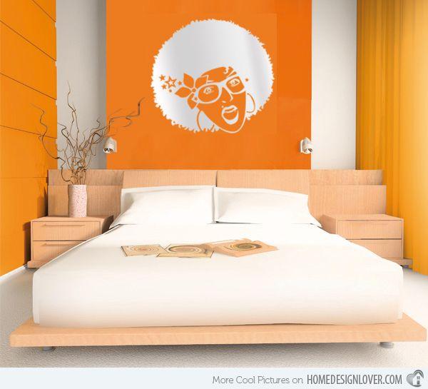 Die besten 25+ Orange schlafzimmerwände Ideen auf Pinterest - schlafzimmer ideen orange