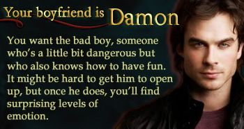 The Vampire Diaries - Personality Quiz - Who is Your 'Vampire Diaries' Boyfriend?