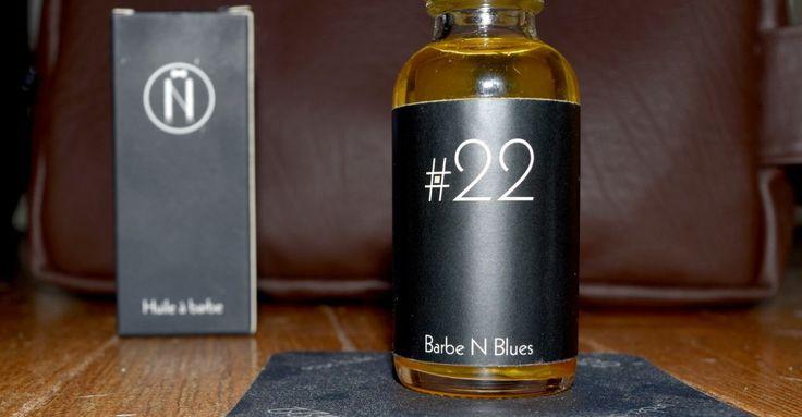Barbe N Blues #22, l'huile à barbe née de la collaboration avec Luka Karabatic