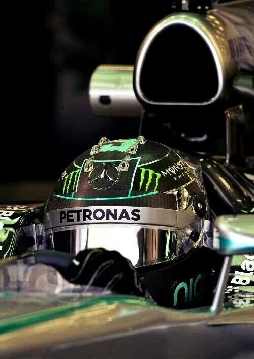 Mercedes AMG Petronas - Nico Rosberg on track @ Bahrain