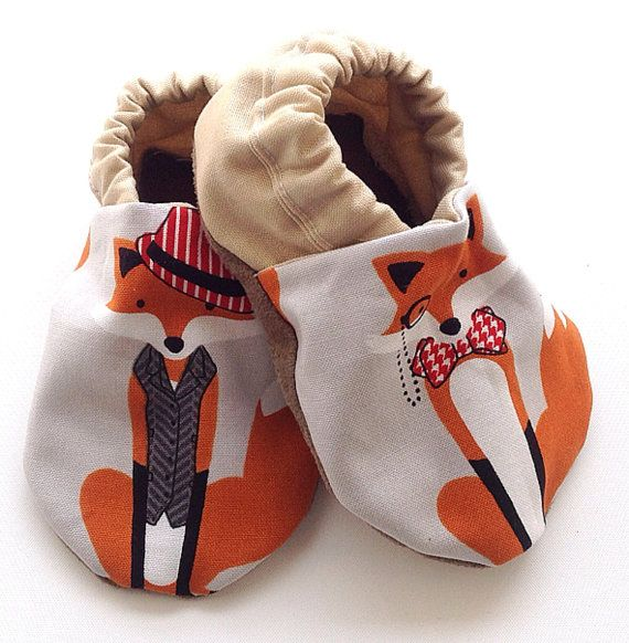 Mr. Fox Baby Shoes