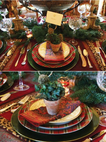 Holiday Project: Christmas tablescapes