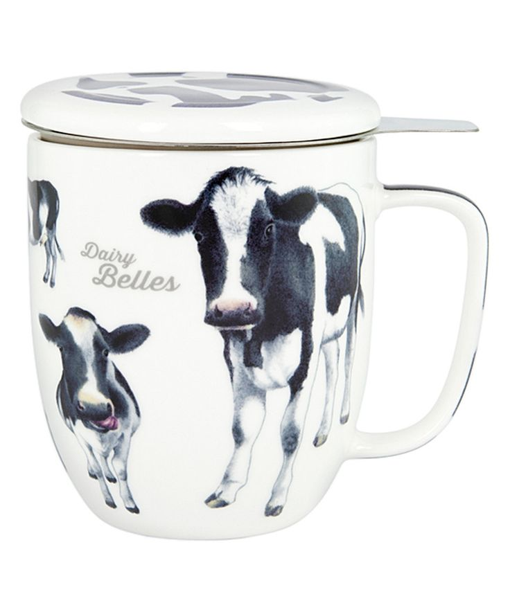 Dairy Belles Three-Piece Infuser by Ashdene  sc 1 st  Pinterest & 101 best Dishes: Cows images on Pinterest | Cow Kitchens and Mugs
