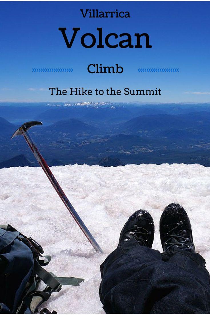 Villarrica Volcan Climb: The Hike to the Summit