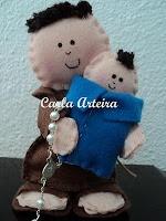 Moldes Para Artesanato em Tecido: MOLDE SANTO ANTÔNIO: For Handmade, Doll, Saint Dolls, Felt, Fabric, Molds, San Antonio, Crafts