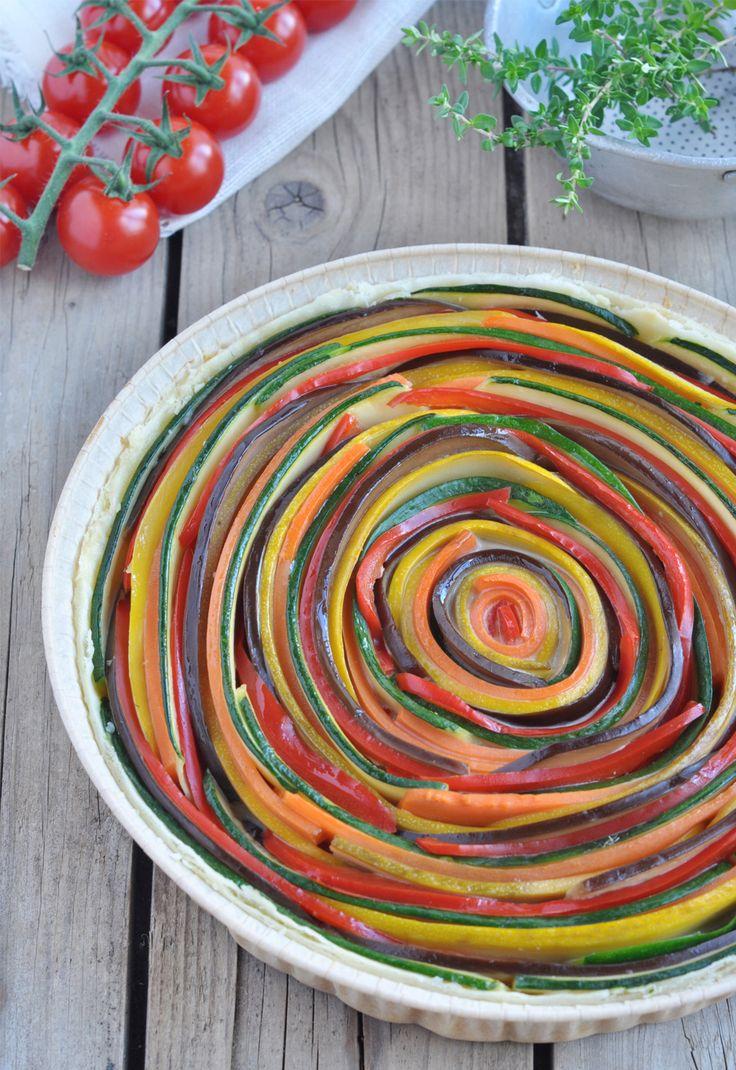 Ingrédients Pâte brisée Bonneterre 1 courgette verte 1 courgette jaune 1 belle carotte 1 poivron rouge 1 aubergine 20cl de Crème avoine cuisine Bonneterre 2 œufs 30g de gruyère Sel Poivre Préparation Laver les légumes et les tailler en lamelles à l'aide d'une mandoline.Faire bouillir un grand volume d'eau salée dans une casserole. Préparer un … Continuer la lecture de Tarte serpentin à la crème d'avoine