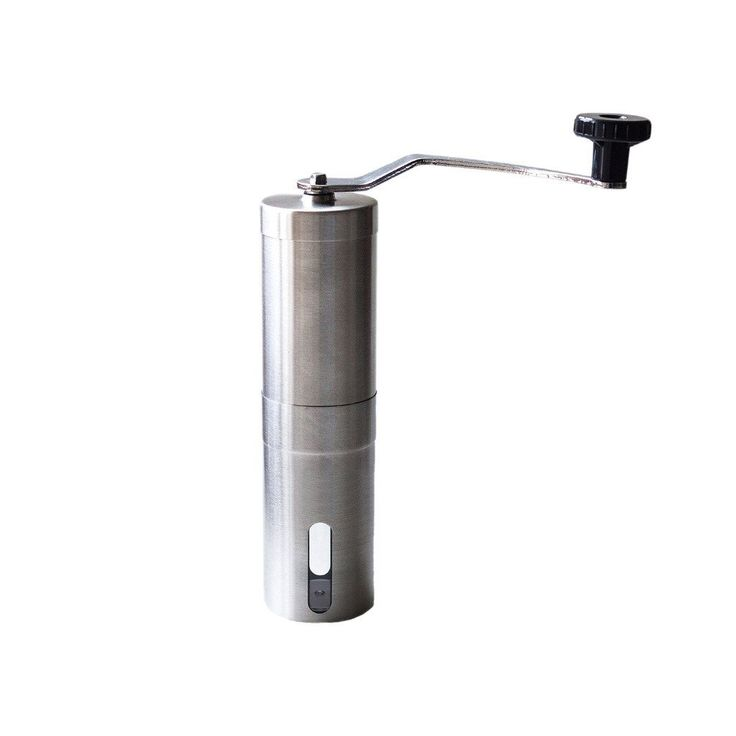 JILLBAN Stainless Steel Portable Manual Coffee Grinder Bean Mill With Adjustable Ceramic Burr * You can find out more details at the link of the image.
